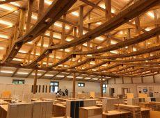 【木造・木質化された新庁舎】